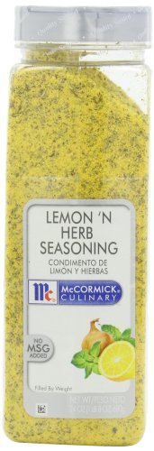 McCormick Culinary Lemon 'N Herb Seasoning, 24 oz (Pack of 2)