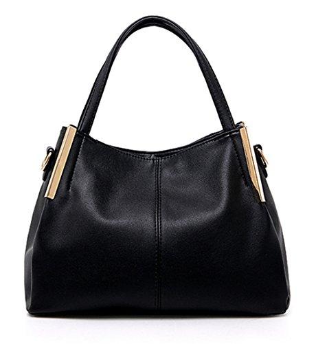 Bolsos de señora Xinmaoyuan señoras bolso de hombro cruz oblicua Big Bag Negro
