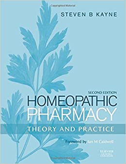 Book Homeopathic Pharmacy: Theory and Practice, 2e