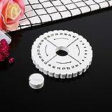 4 Inch Kumihimo Disks Hand-held Round and Flat