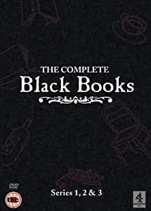 Black Books - Complete Series 1, 2 And 3 - Import Zone 2 UK (anglais uniquement) [Import anglais]