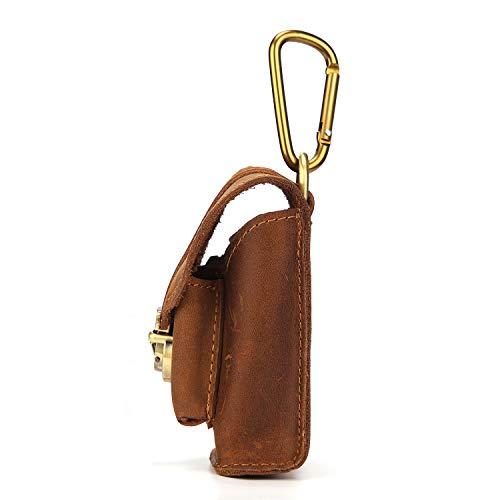 Crazy fibbia da tasche portare in Horse uomo Mini pelle da 2018 Brown in con pelle Borsa Nuovi qOUxXpwHfv