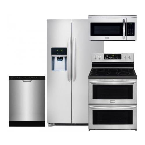 Frigidaire Gallery 4-Piece Smudge-Proof Stainless Steel Kitchen Package with FGHS2631PF 36