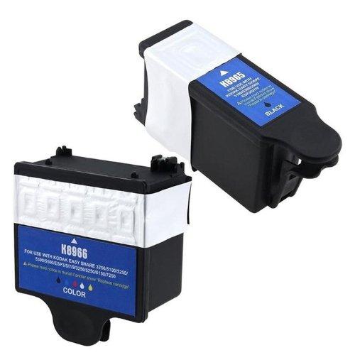 ® Compatible Ink Cartridge Replacement for Kodak 10 (1 Black, 1 Color, 2-Pack) (Hi Yield Print)