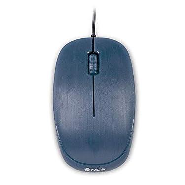 NGS-Flame-Blue-Raton-Optico-1000dpi-con-Cable-USB-Raton-para-Ordenador-o-Portatil-con-3-Botones-Ambidiestro-Azul
