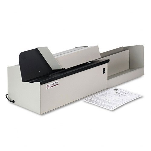 Martin Yale 62001 Deluxe High-Speed Letter Opener, Gray, Up To 17,500 Envelopes per Hour, Accepts a 6' Tall Stack of Envelopes, 500,000 per Month Capacity