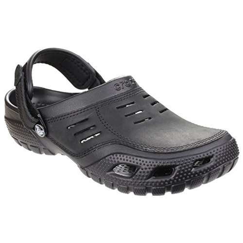 Crocs 10931-30Q Zuecos con Correa para Hombre Negro