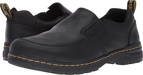 Dr Martens Slip On (Dr. Martens Men's Brennan Loafers, Black, 9 M UK, 10 M US)