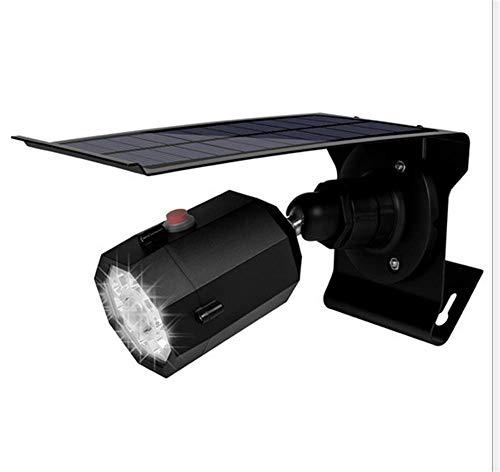 Balscw-J Luz Solar Brillante estupenda del Sensor del Movimiento con la cámara de vigilancia Falsa al Aire Libre Solar...