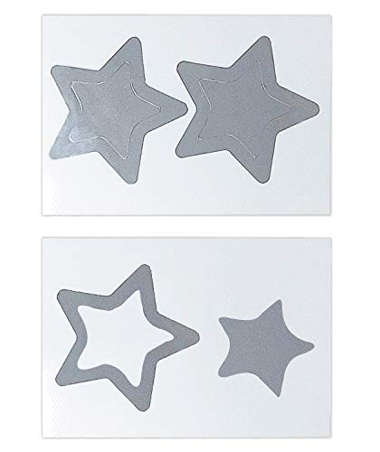 - Silver Metallic Star Shape Stcikers 2 Inch Wall Decals (160 Decals) | Easy to Peel/Stick Safe on Painted Walls | Removable Self Adhesive Stickers Pack for Teacher Supplies Scrapbooking Party Favors