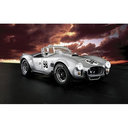 Franklin Mint 1/24 1966 Shelby Cobra 427 S/C - Aluminum (Franklin Collectible Cars Mint)