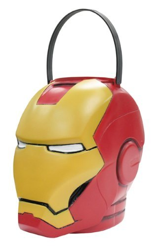 Lets Party By Disguise Inc Iron Man 2 (2010) Movie - Folding Pail / Red - One ()