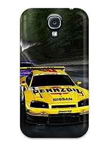 Hot Design Premium RkemjOA9933YEBPz Tpu Case Cover Galaxy S4 Protection Case(vehicles Race Cars Race)