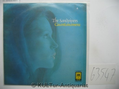 The Sandpipers: Guantanamera [Vinyl LP Record] by A & M Records