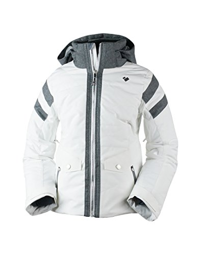 Obermeyer Kids Girl's Dyna Jacket (Big Kids) White Small