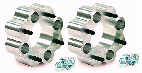 2'' Kawasaki Teryx/Mule 2500-3000 4/137 12mm Stud Aluminum Wheel Spacer Kit (pr) by STI Slasher