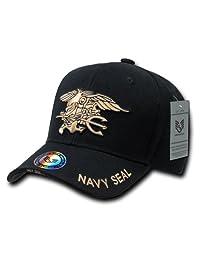 Rapiddominance Navy Seals The Legend Military Cap, Black