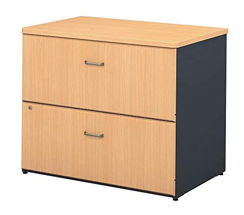 Bush Businеss Furniturе Office Home Furniture Premium Series A 36W 2-Drawer Lateral File in ()