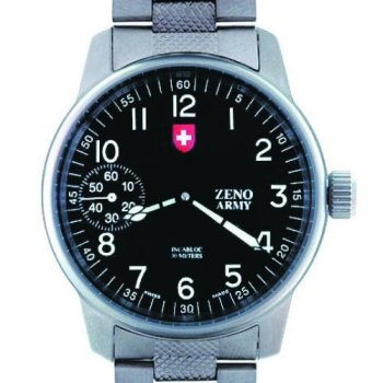 Zeno-Army-SC-Fliegeruhr-Manual-Wind-Ref-6558-A-SV-MT