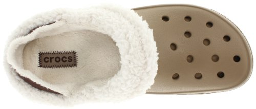 crocs Mammoth Core Full Collar 12878-55V-160 - Zuecos unisex Khaki/Oatmeal