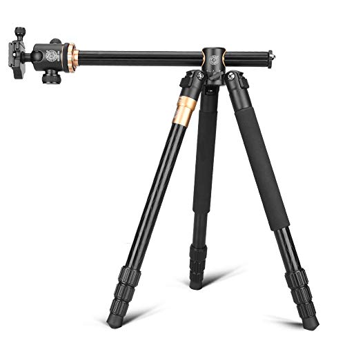 QZSD Q999HCamera Tripod 61.5 Inch Portable Magnesium Aluminium Monopod 4 Section Professional Tripods with 360 Degree Ball Head Quick Release Plate for Canon Nikon Sony DSLR Cameras DV For Sale