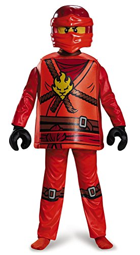 Kai Deluxe Ninjago Lego Costume, Medium/7-8