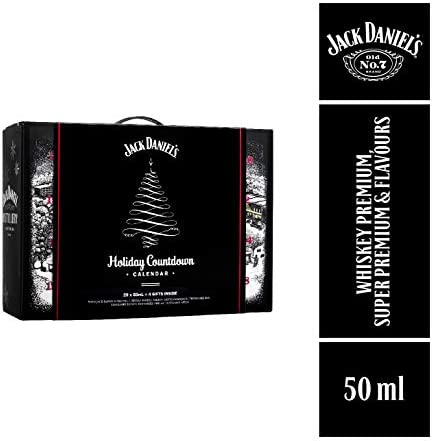 Jack Daniel's Calendario Navidad de miniaturas 0,05L x 20