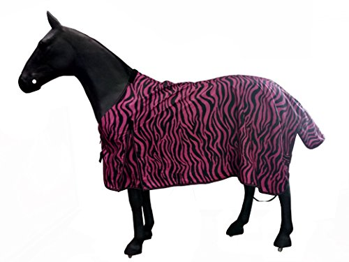 Barn&Stable Horse Blanket/ 600D Turnout Sheet Zebra print sizes 69