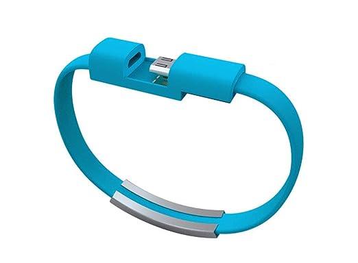 WOkismx USB portátil Mini teléfono móvil Pulsera línea de Carga ...