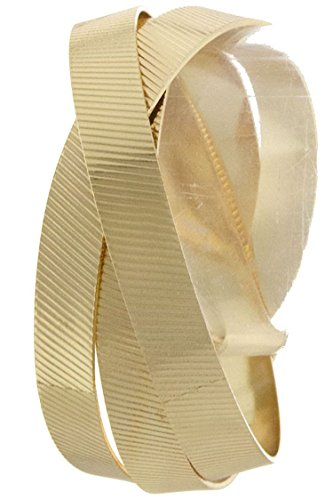Je Me Costume (KARMAS CANVAS TIMELESS SCRATCH TEXTURE METAL INTERLOCKED BANGLE (Gold))