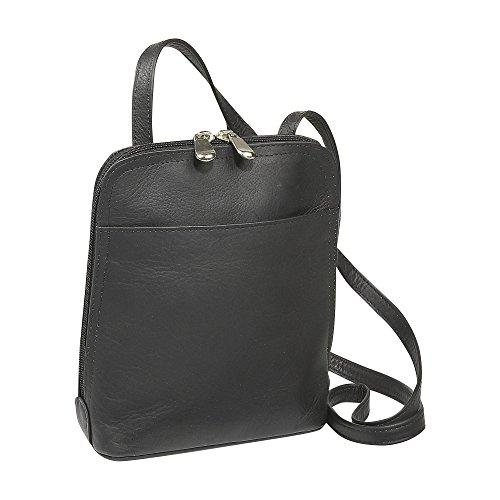 ledonne-leather-u-zip-mini-shoulder-bag-black-small
