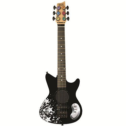 UPC 607266203284, First Act Discovery Junior Electric Guitar - Black Stars