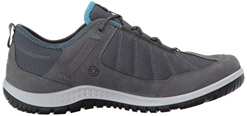 Hiking Dark Shadow Shoe Shadow Textile Aspina Dark ECCO Low Gore Tex Women's xHYW8qwZ