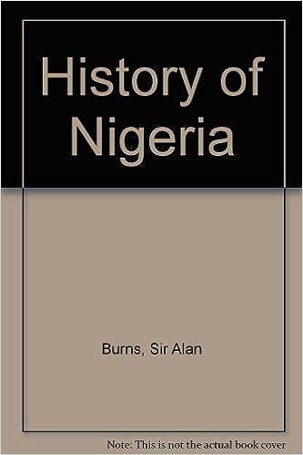 Book History of Nigeria