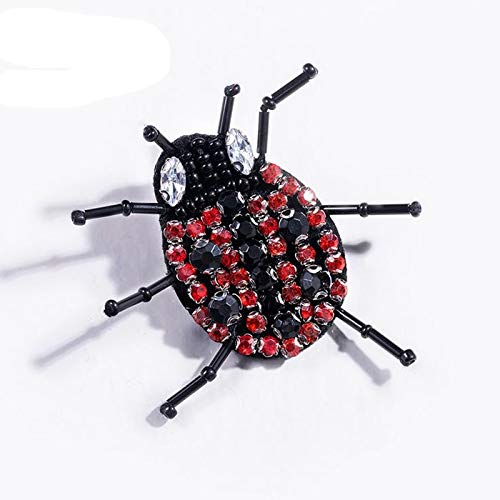 (Pins Pincushions - 2 6x3 8cm Handmade Pin Brooch Creative Insect Spider Shape Safety Pins Shirt Collar Scarf Bag Decor - Pearl Badg Spider Pilot Jewelry Elephant Rabbit Gift Brooch)