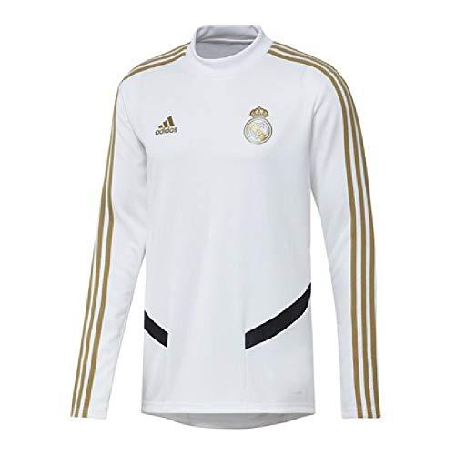 Real Madrid Training Top - adidas 2019-2020 Real Madrid Training Top (White)