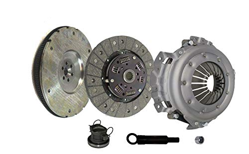 4 Cylinder 2.5l Wrangler - Clutch And Flywheel Kit works with Jeep Tj Wrangler Se Base S Sport Rio Utility 2-Door 4-Door 1994-2002 2.5L L4 GAS OHV Naturally Aspirated