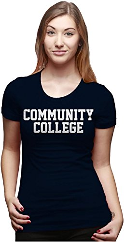 Crazy Dog TShirts - Women's Community College T Shirt Funny School Tee Education Shirt For Women - Camiseta Para Mujer