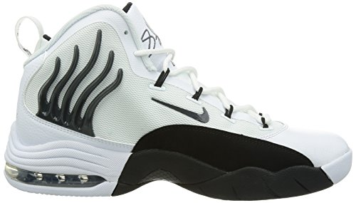 Nike Sonic Vlucht Basketbalschoen Wit / Antraciet-zwart