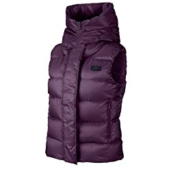 Nike Womens Down Winter Vest Mulberry/Black 683889-563 (Large)