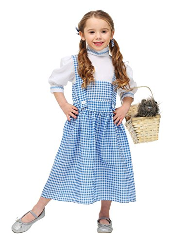 Little Girls' Dorothy Dress (2t Dorothy Costume)