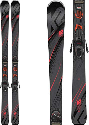 K2 Secret Luv Womens Skis with ER3 10 Bindings 2019-149cm (Luv Skis)