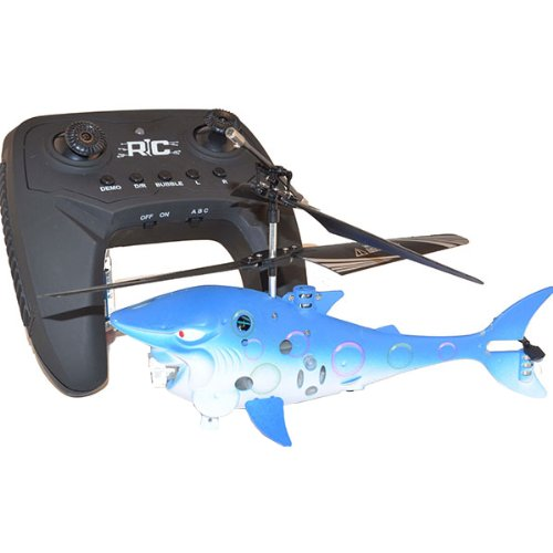 MRC SmToys Shark R/C Flying Bubble Helicopter