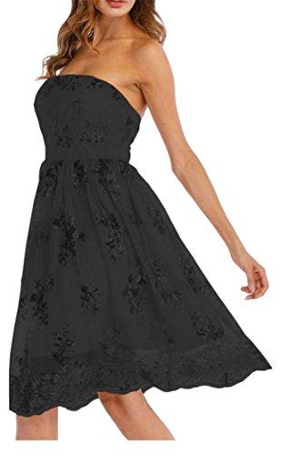 Shoulder Black Dresses Off A Strapless Line Womens Sequins Casual Cromoncent fqFxRt1wz