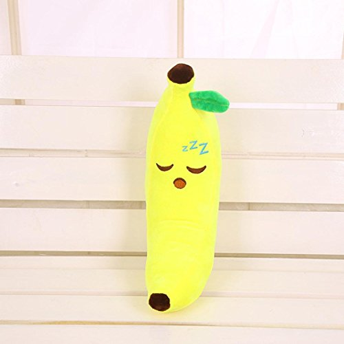 """2016 Christmas Decoration, Owill Lovely Emoji Fruit Banana Pillow Cushions Head Cushion Pillow Plush Toys 17.7"""" (Style A)"""