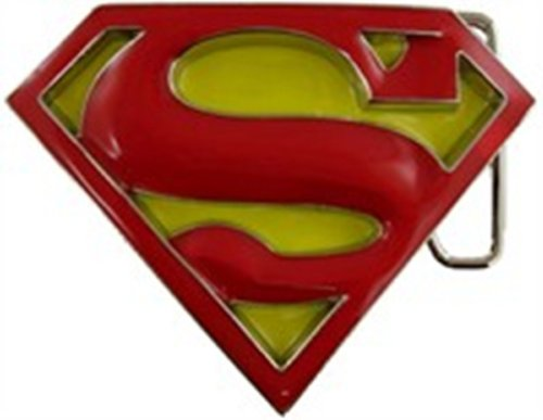 Belt Costume Superman Returns (Superman Belt Buckle US American Superhero Returns Comics New Costume)
