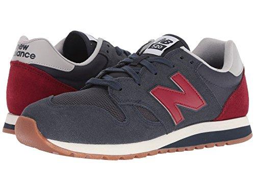 [new balance(ニューバランス)] メンズランニングシューズ?スニーカー?靴 U520v1 Outerspace/Scarlet Men's 11, Women's 12.5 (29cm(レディース29.5cm)) Medium
