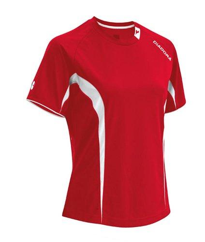 - Diadora Soccer Ermano Jersey Shirt, Red, X-Large
