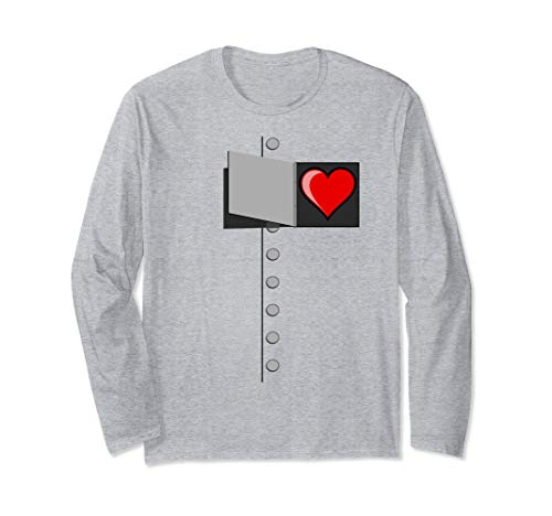 Tin Man Heart T-Shirt-OZ Tinman Halloween Costume Tshirt -