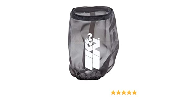 For Your K/&N RC-3680 Filter K/&N RC-3680DK Black Drycharger Filter Wrap
